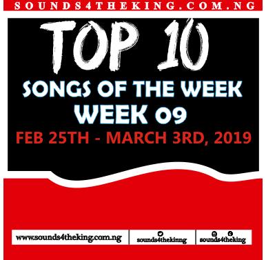 Top 10 Gospel Songs of the week