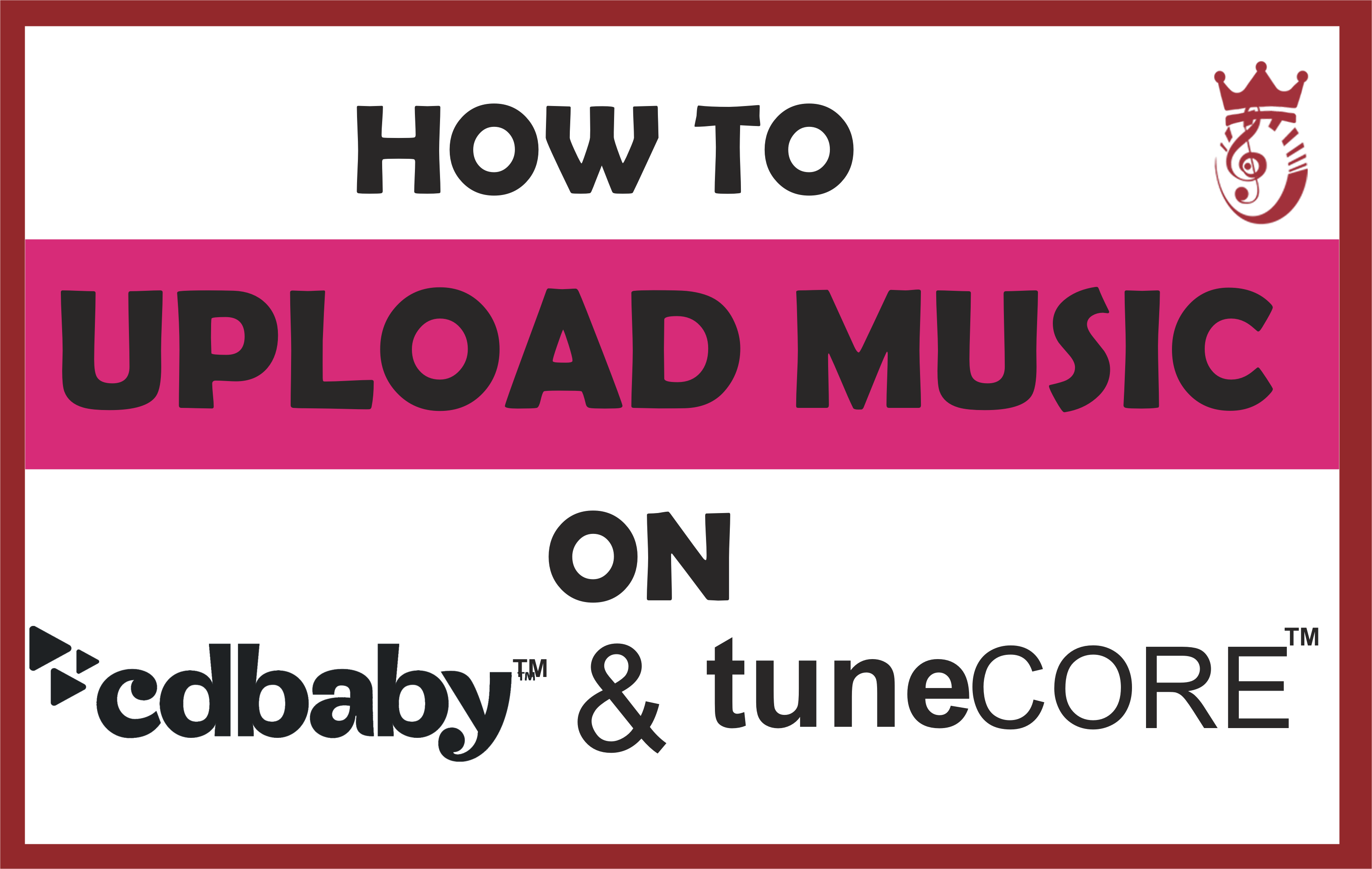 Upload Song on CDBAby and TuneCore
