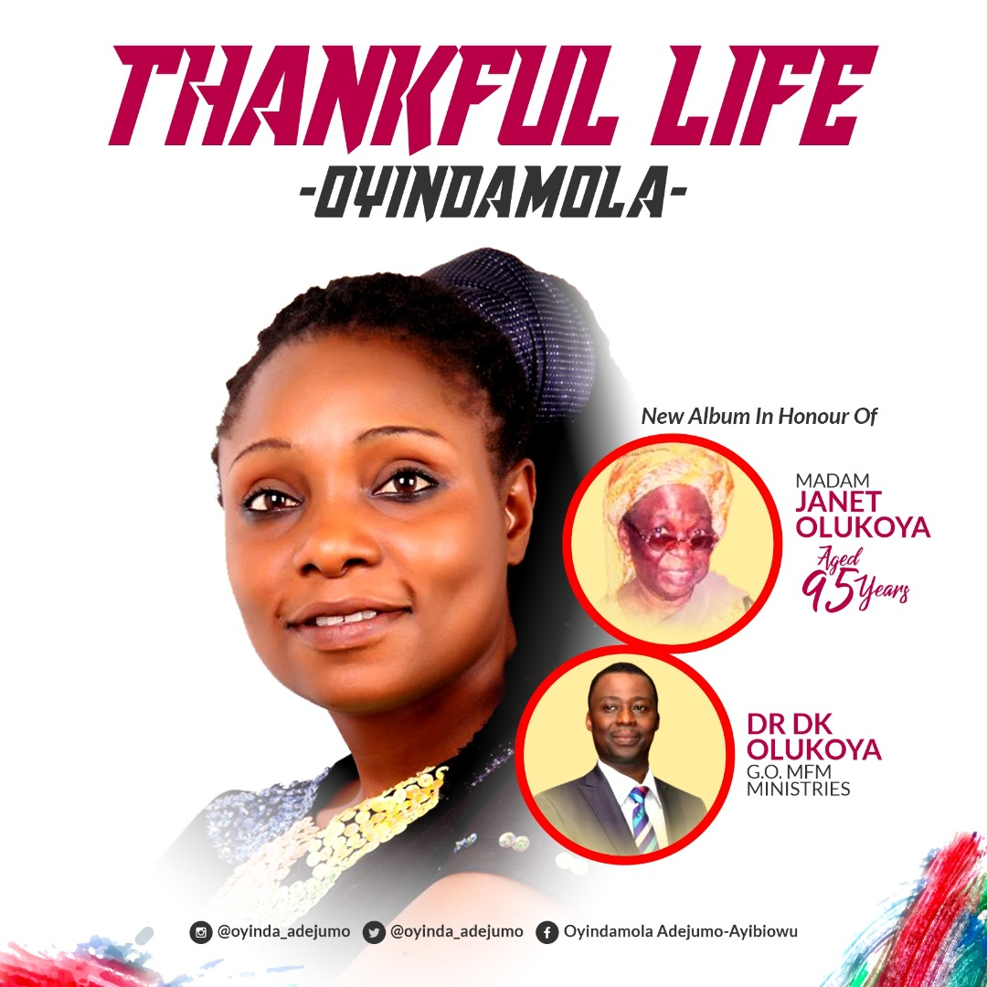 Oyindamola Thankful Life MP3 Download