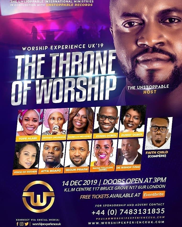 Worship Experience UK 2019