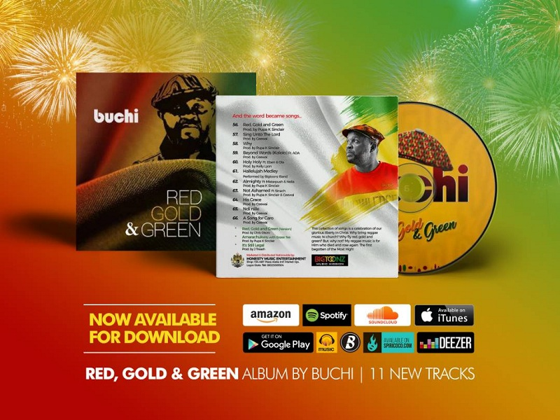 Buch - Red Gold and Green