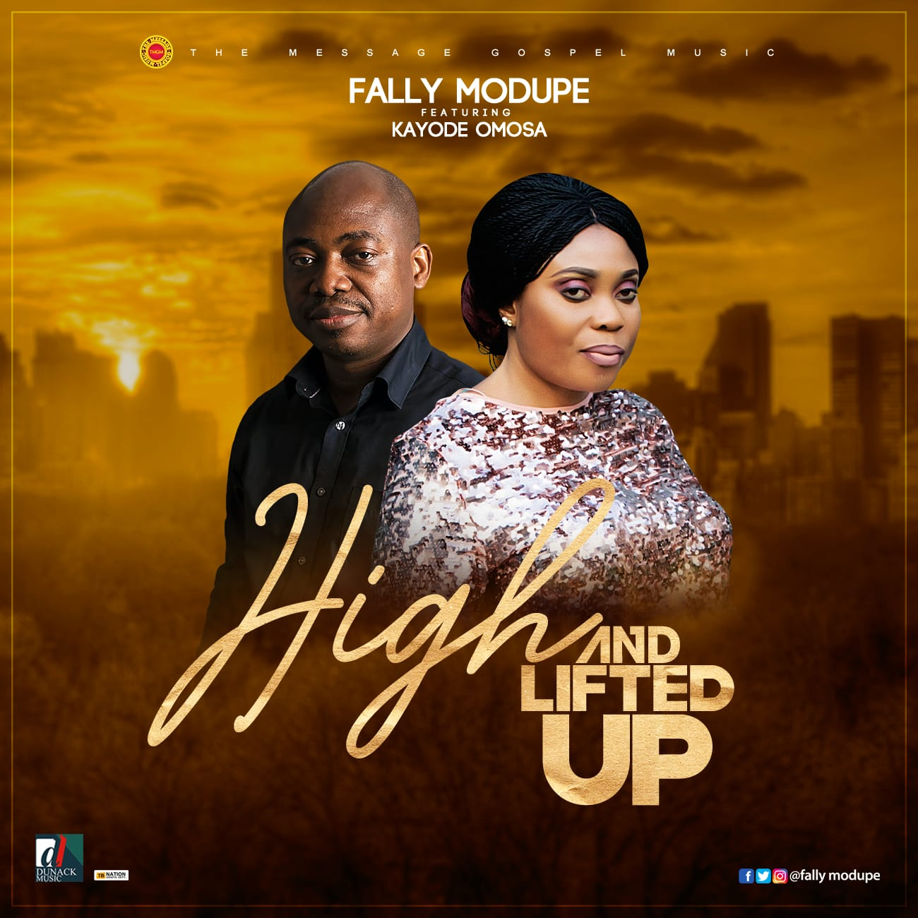 Download Mp3 High and Lifted Up – Fally Modupe Ft. Kayode Omosa