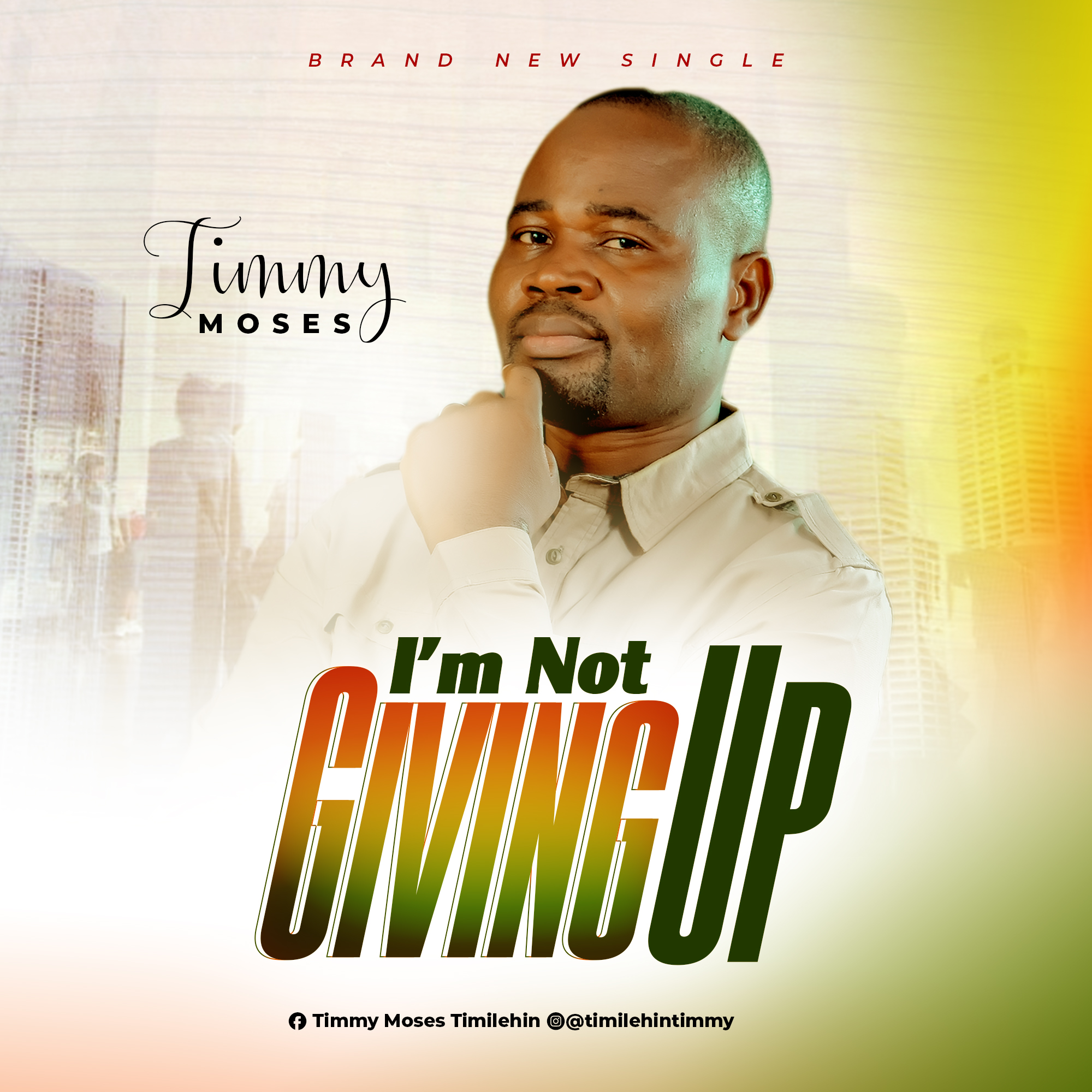 Download Mp3 Timmy Moses - Im Not Giving Up