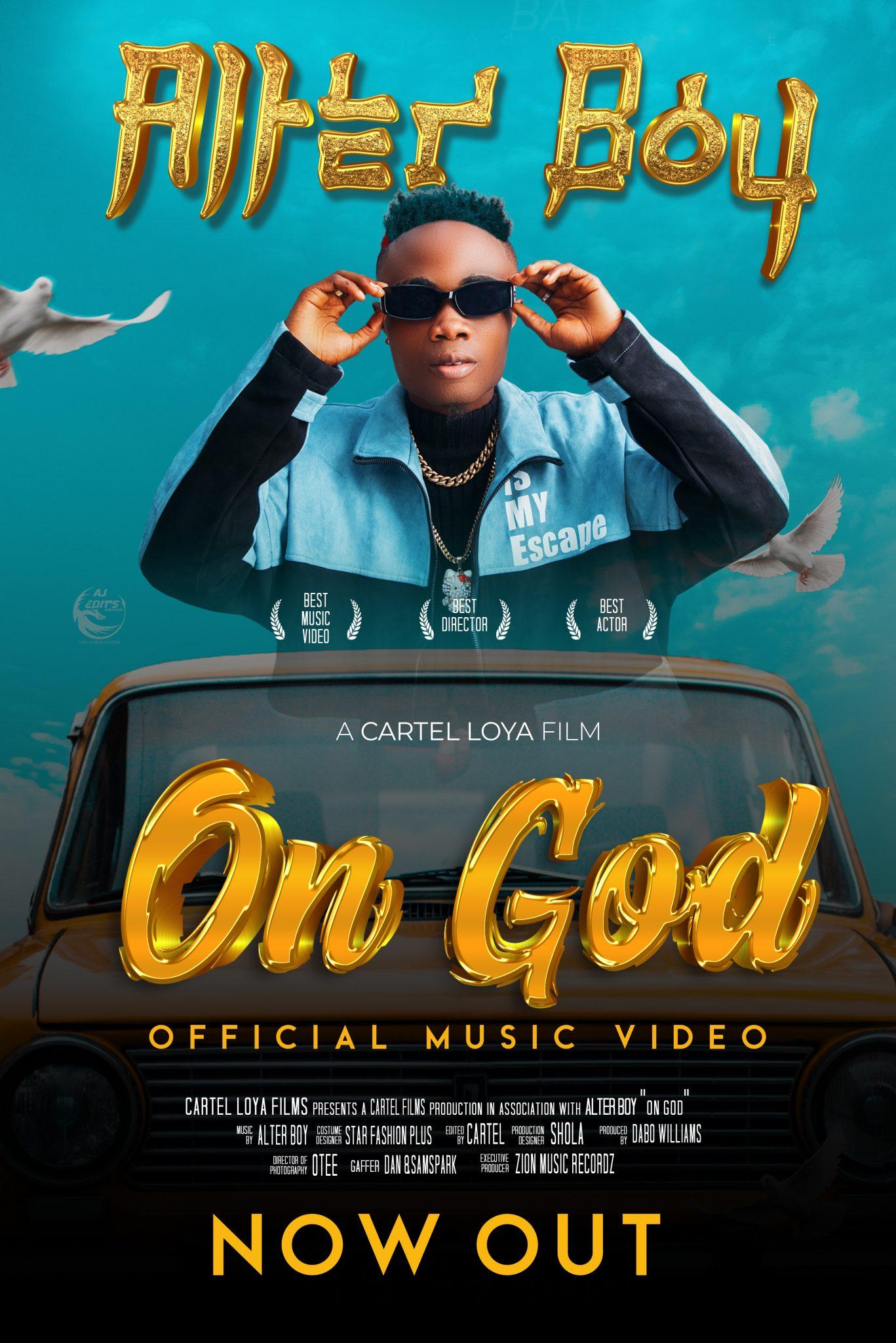 Alter Boy - On God Video