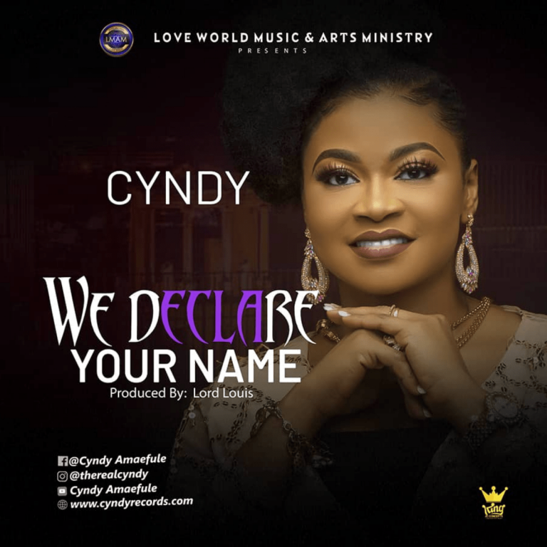 Cyndy - We Declare Your Name