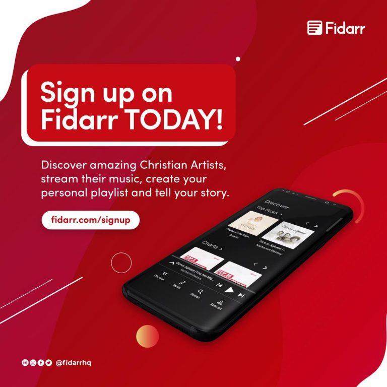 Fidarr Sign Up