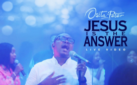 Osita peter Jesus is the answer artwrok
