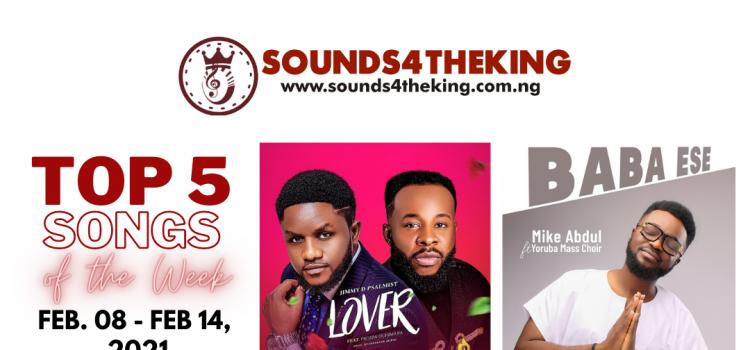 Nigerian Top 5 Gospel Songs February