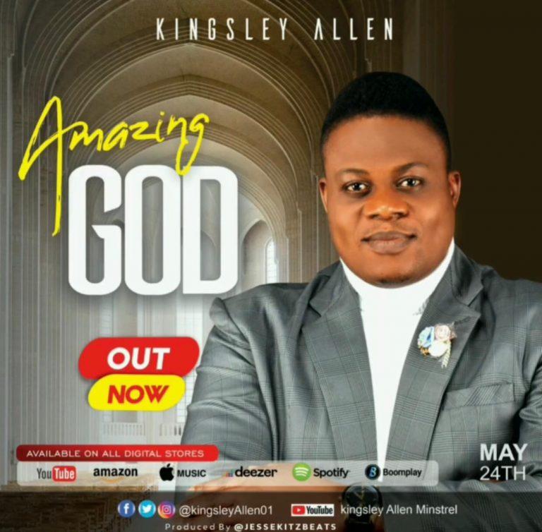 Amazing God by Kingsley Allen