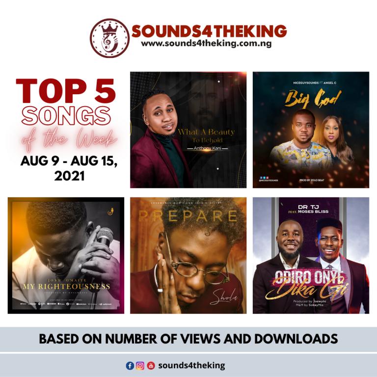 Top 5 Gospel Songs Sounds4TheKing